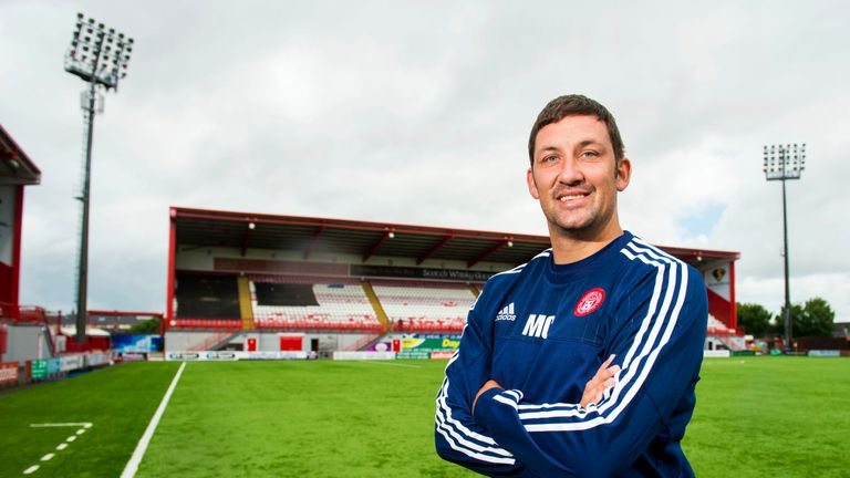 Hamilton manager Martin Canning is looking for a defensive recruit