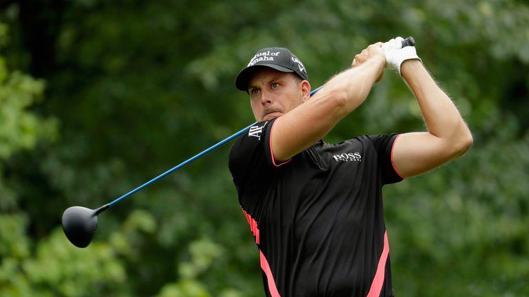 Henrik Stenson's challenge faltered down the stretch