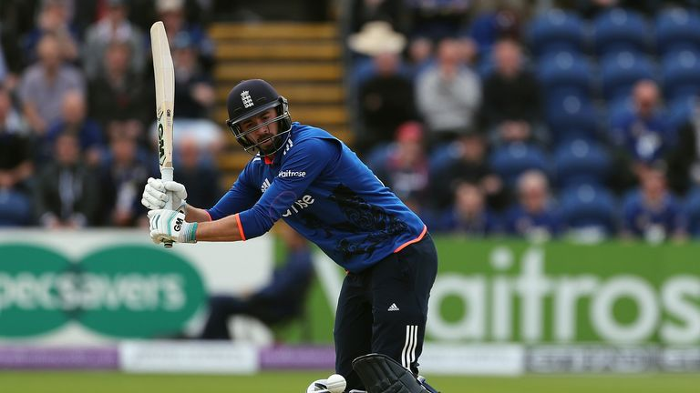 James Vince hit fifty in his first ODI innings for England