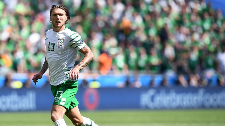 Jeff Hendrick caught the eye during Euro 2016