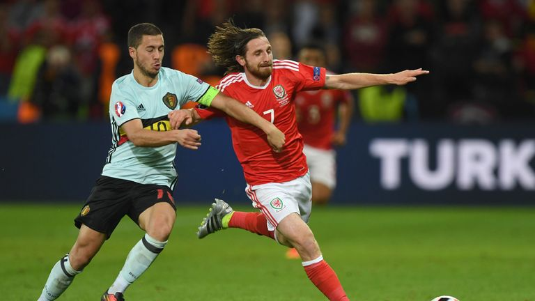 Allen was a stand-out performer for Wales at Euro 2016