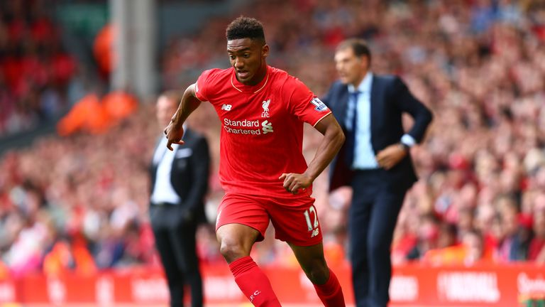 Initially Gomez was used at left-back by Brendan Rodgers