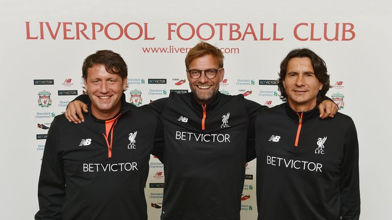 Jurgen Klopp has signed a new deal with Liverpool, along with his assistant coaches Zeljko Buvac and Peter Krawietz