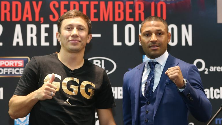 Brook takes on Gennady Golovkin on September 10 at the O2 Arena
