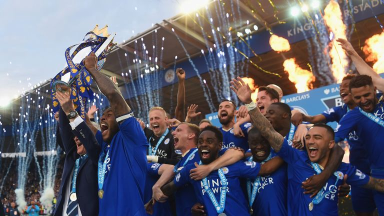Leicester won the Premier League last season but did not always dominate possession