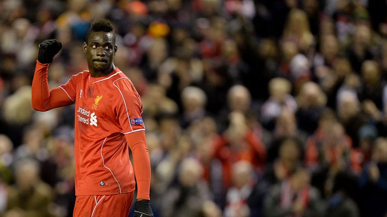 Mario Balotelli scored just one Premier League goal during his time at Liverpool
