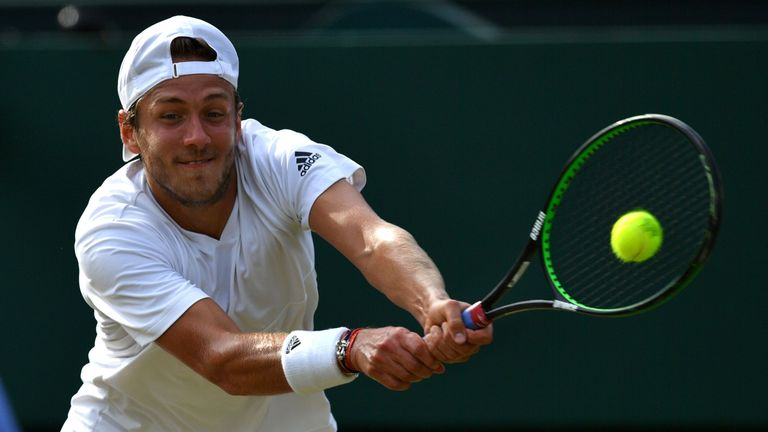 Lucas Pouille is a young talent to watch