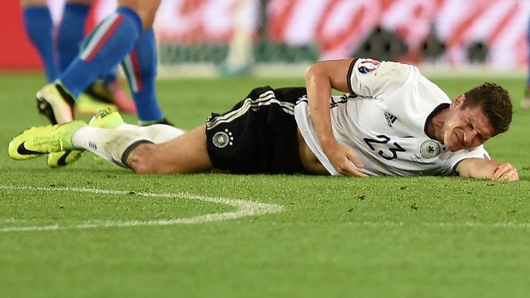 Germany are without Mario Gomez, Sami Khedira and Mats Hummels