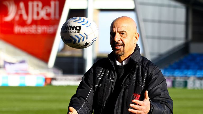 Marwan Koukash has decided to stay with Salford after considering his future