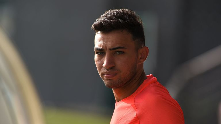 Munir is currently on loan at Valencia from Barcelona