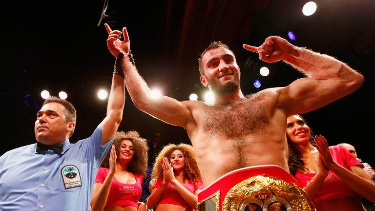 Russia's Murat Gassiev is a world champion for the first time