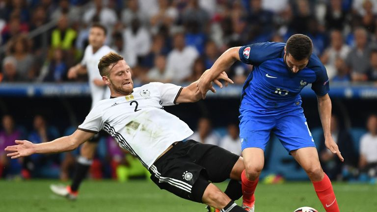 Centre-back Shkodran Mustafi is a target for Arsenal, according to Sky Germany