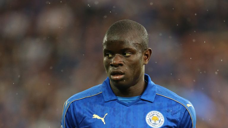 N' Golo Kante has been offered improved terms to stay at Leicester