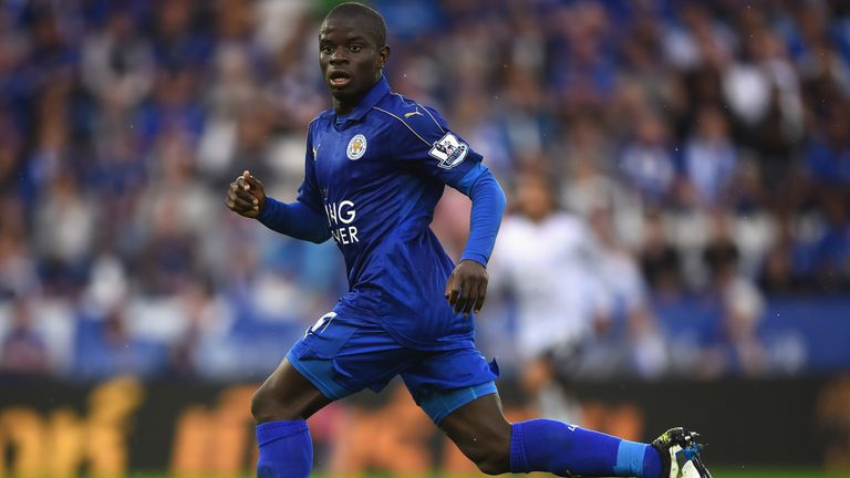 N'Golo Kante has left the champions to join Chelsea