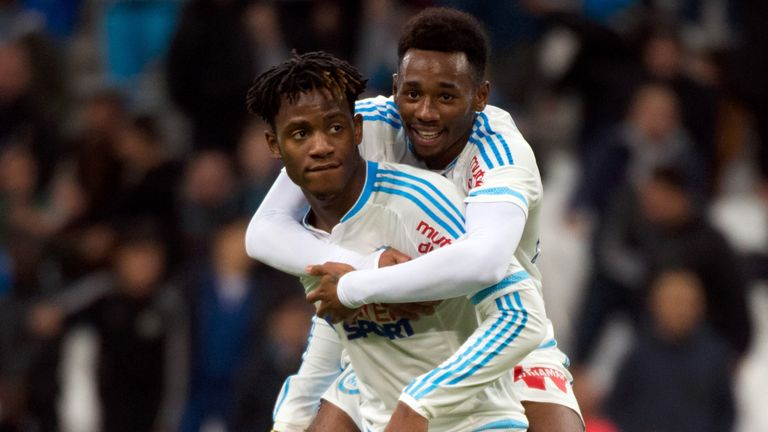 N'Koudou formed a formidable attacking relationship with Michy Batshuayi at Marseille.