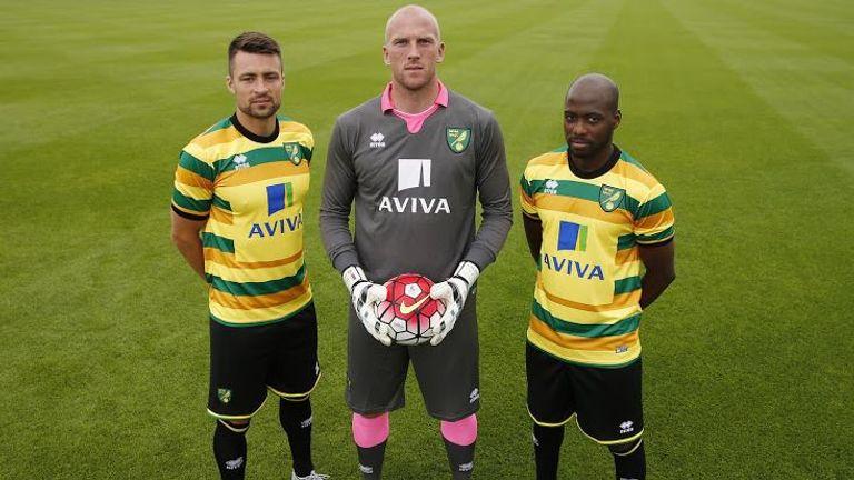 Norwich City set pulses racing with a garish third kit last season