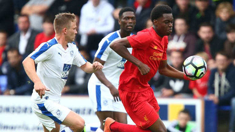 Ovie Ejaria made his first-team bow in a friendly against Tranmere