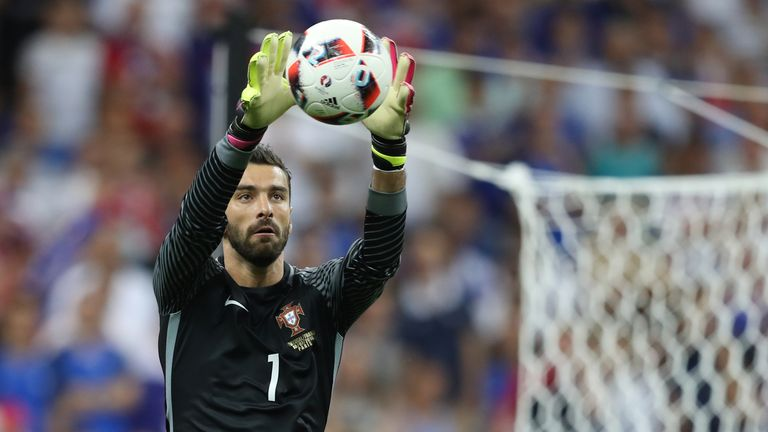 PSG face competition from Napoli in the race to sign Sporting 'keeper Rui Patricio