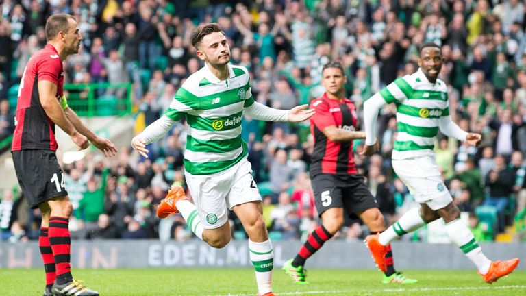 Roberts will be allowed to play for Celtic against Manchester City - even though he's on loan from Pep Guardiola's side