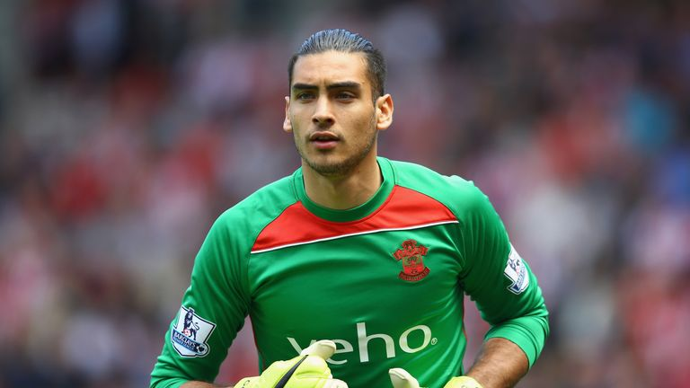 Paulo Gazzaniga joined  the Saints from Gillingham in 2012