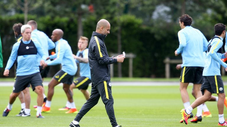 Guardiola prefers his players to focus on ball work during pre-season