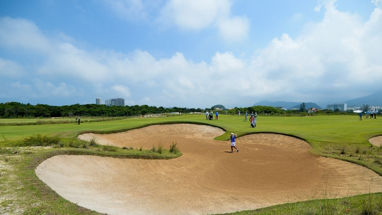 The Olympic course in Rio will be missing a number of the world's top players next month
