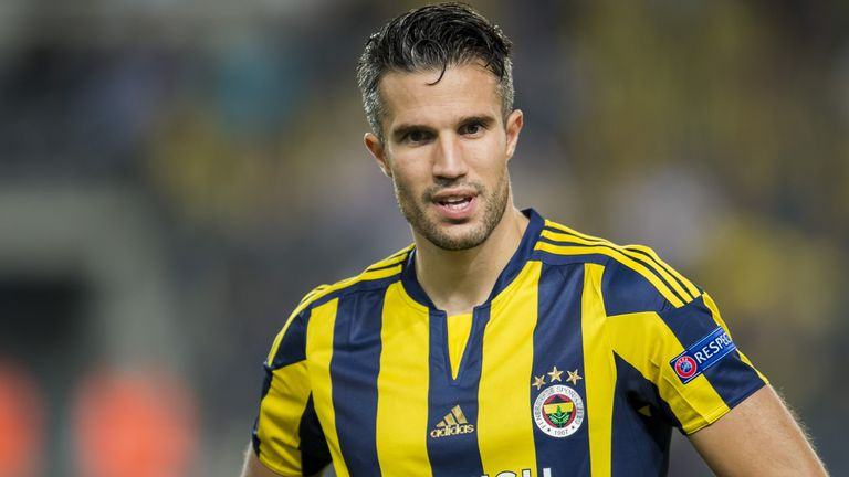Stoke City have also been linked with a move for Fenerbahce striker Robin van Persie