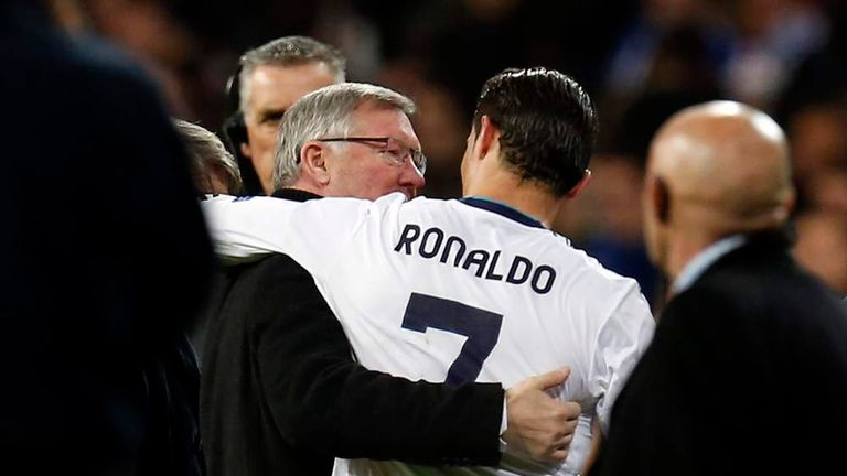 Sir Alex Ferguson insists Cristiano Ronaldo's desire sets him out from his contemporaries