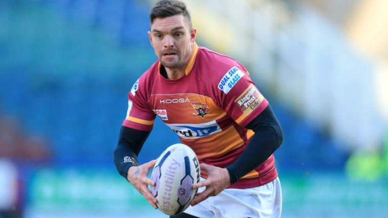 Huddersfield will be without the suspended Danny Brough for their clash with Featherstone