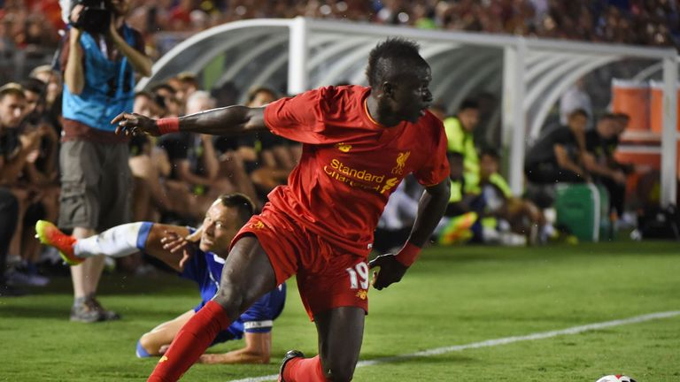 Liverpool played Chelsea in the International Champions Cup in California in 2016