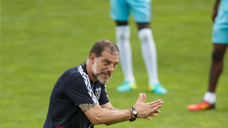 Slaven Bilic is looking to strengthen his forward options before the start of the season
