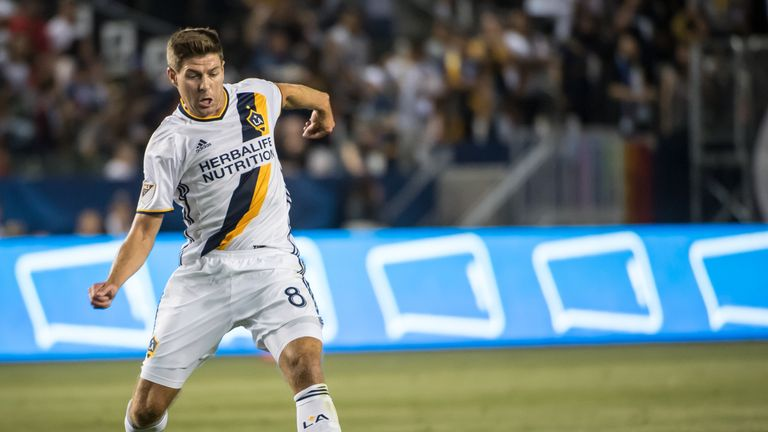 Taylor will go up against the likes of Steven Gerrard in the MLS