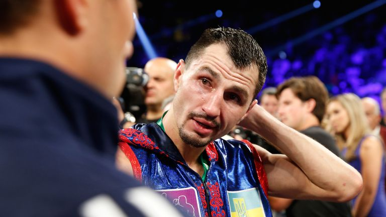 Postol lost his WBC world featherweight title in a unanimous defeat