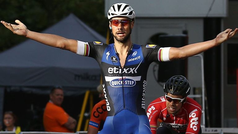Tom Boonen sprinted to victory on The Mall