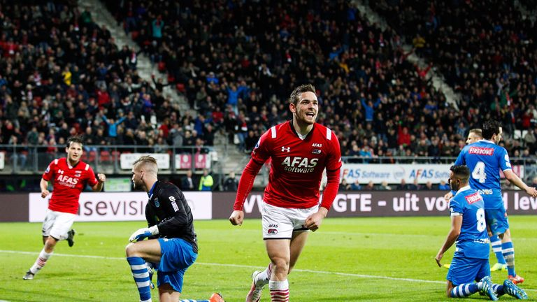 Janssen enjoyed a breakthrough season in Alkmaar with AZ in 2015/16