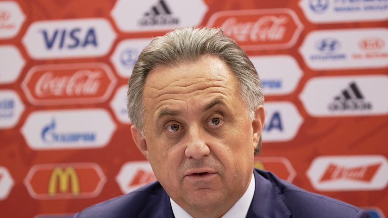 WADA has called on FIFA to investigate Russia's sports minister Vitaly Mutko