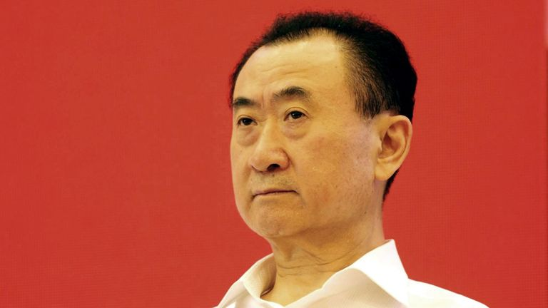 Wang Jianlin, chairman of Wanda Group, has a 20 per cent stake in Atletico Madrid and has been linked with West Brom
