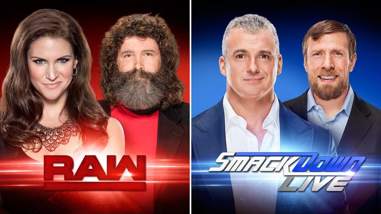 Raw and Smackdown now feature separate Superstars