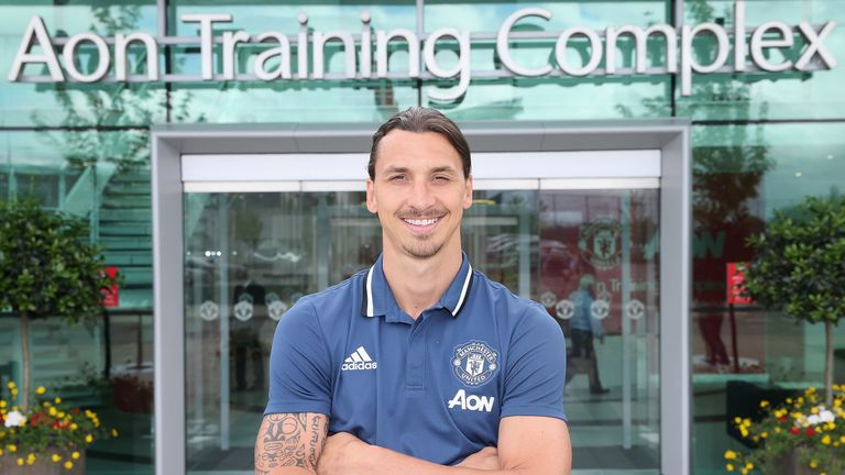 Zlatan Ibrahimovic was offered a trial at Arsenal