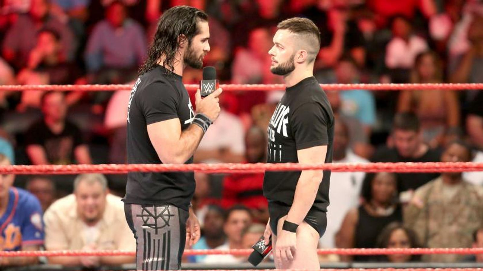 WWE Raw: SummerSlam rivals Finn Balor and Seth Rollins come