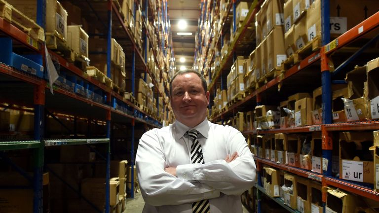 Sports Direct boss Ashley has received plenty of criticism during his time at Newcastle