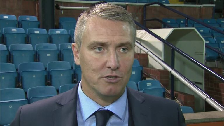 Lee Clark is delighted with double loan signing