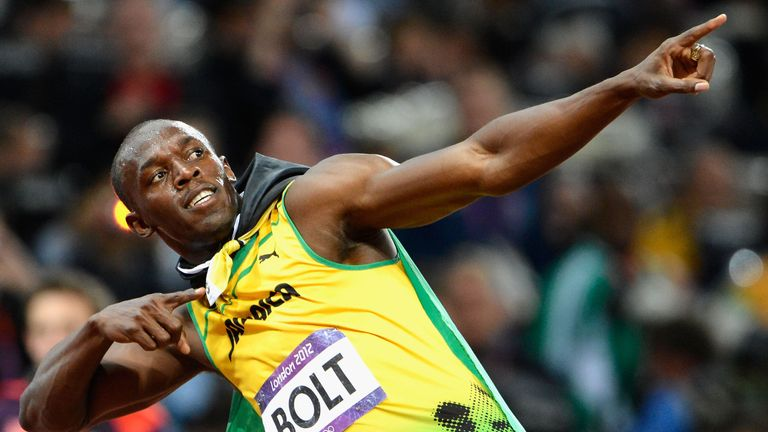 Usain Bolt is the world record holder in both the 100 and 200 metre sprints