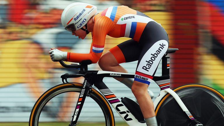 Anna van der Breggen won the road race on Sunday