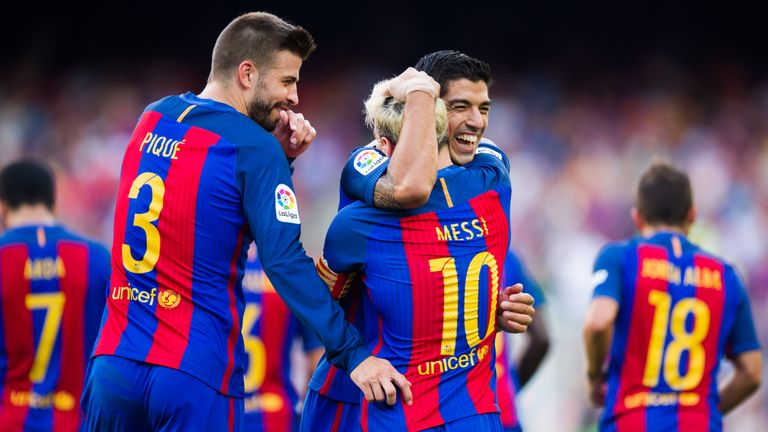 Barca beat Real Betis 6-2 in the opening game of the season