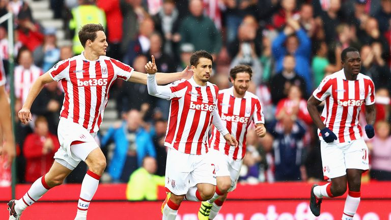 Bojan Krkic scored from the penalty spot for the hosts