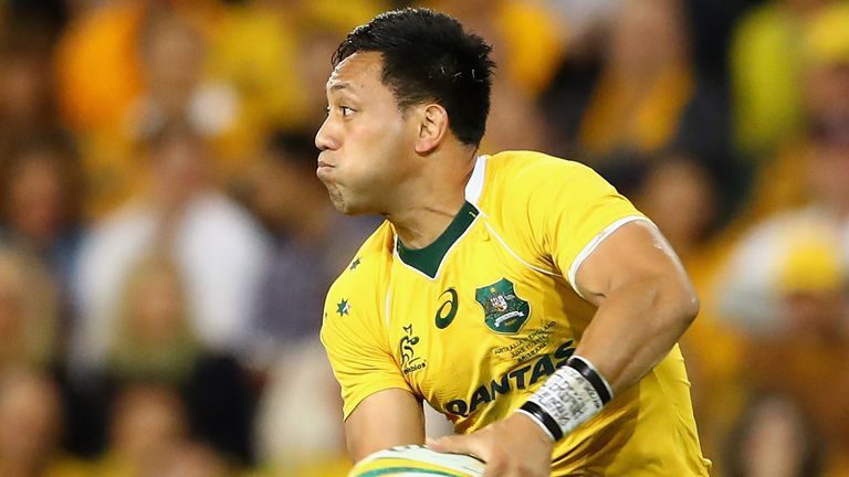 Christian Lealiifano last played for the Wallabies in June 2016, and is making a return after battling Leukaemia