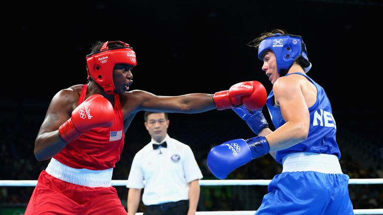 Claressa Shields won USA's only gold but they fell well short of historical standards