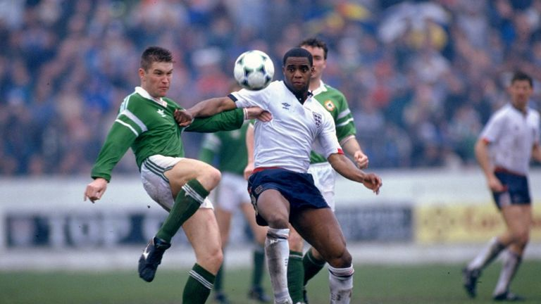 Atkinson made one appearance for England B, scoring in a 4-1 defeat to the Republic of Ireland in March 1990