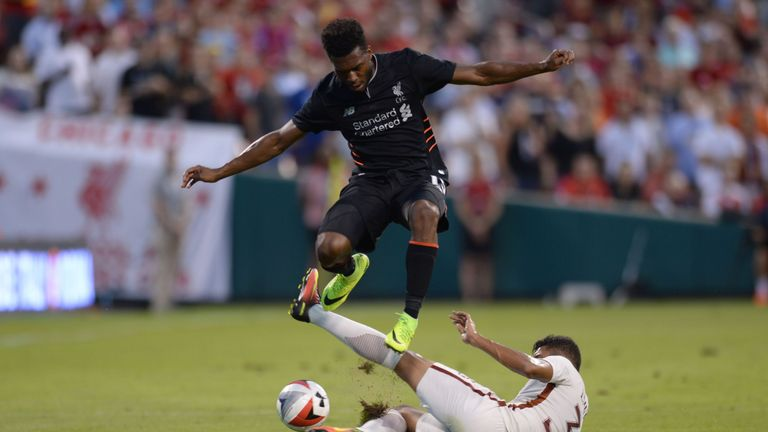 Sturridge featured for Liverpool on their pre-season tour of the United States